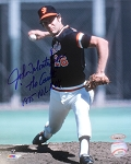 John Montefusco Autographed San Francisco Giants 8x10 Photo Inscribed 75 NL ROY