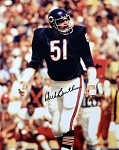Dick Butkus Autographed Chicago Bears 8x10 Photo