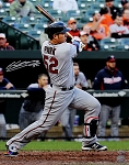 Byung Ho Park Autographed Minnesota Twins 1st Hit 16x20 Photo