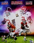 Derrick Henry & Mark Ingram Autographed Alabama Heisman Winners 16x20 Photo