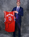 Sam Dekker Autographed Houston Rockets 2015 NBA Draft 8x10 Photo