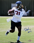 Treston Decoud Autographed Houston Texans 8x10 Photo