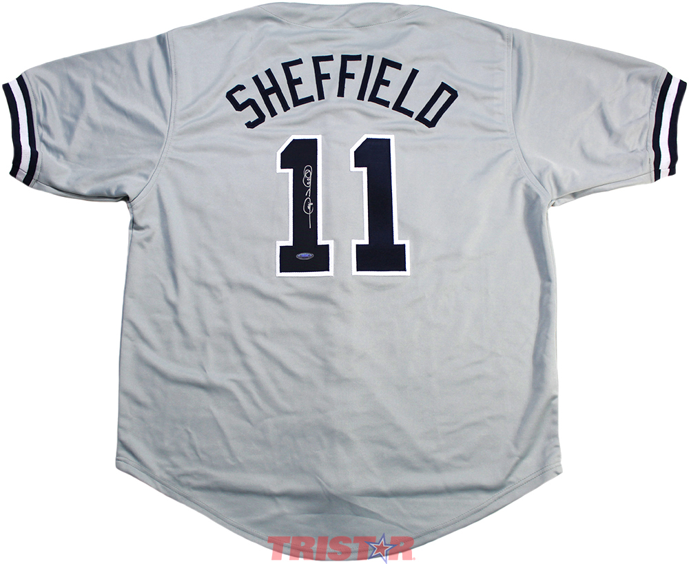 wholesale dealer 10c8f a8b4c Gary Sheffield Autographed New York Yankees Custom Jersey