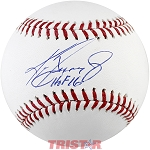 Ken Griffey Jr. Autographed Official ML Baseball Inscribed HOF 16