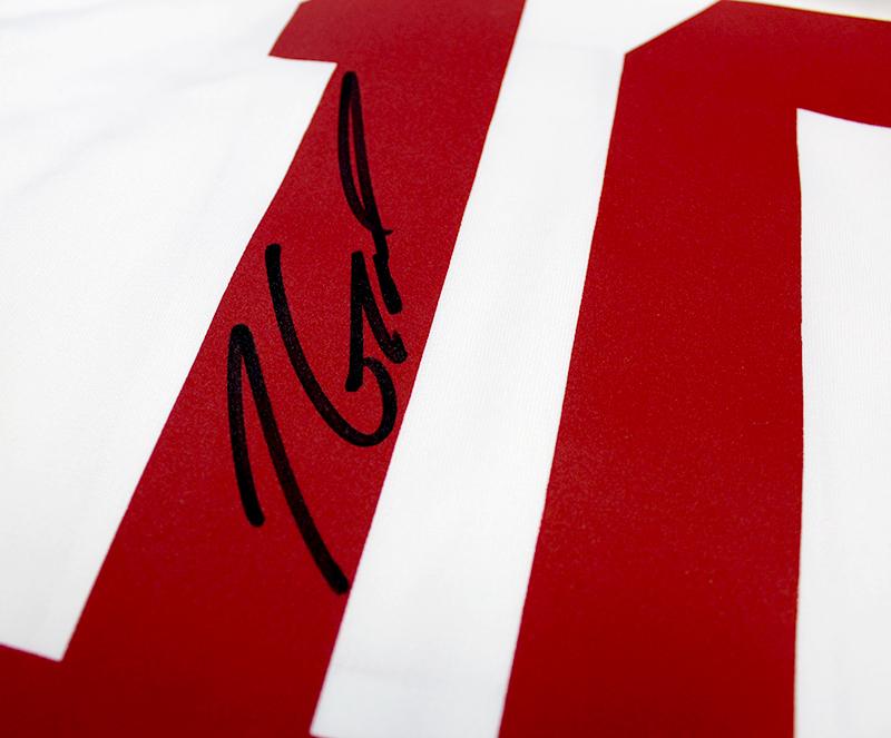 bb08c3142 Jimmy Garoppolo Autographed San Francisco 49ers Nike  Game  White ...