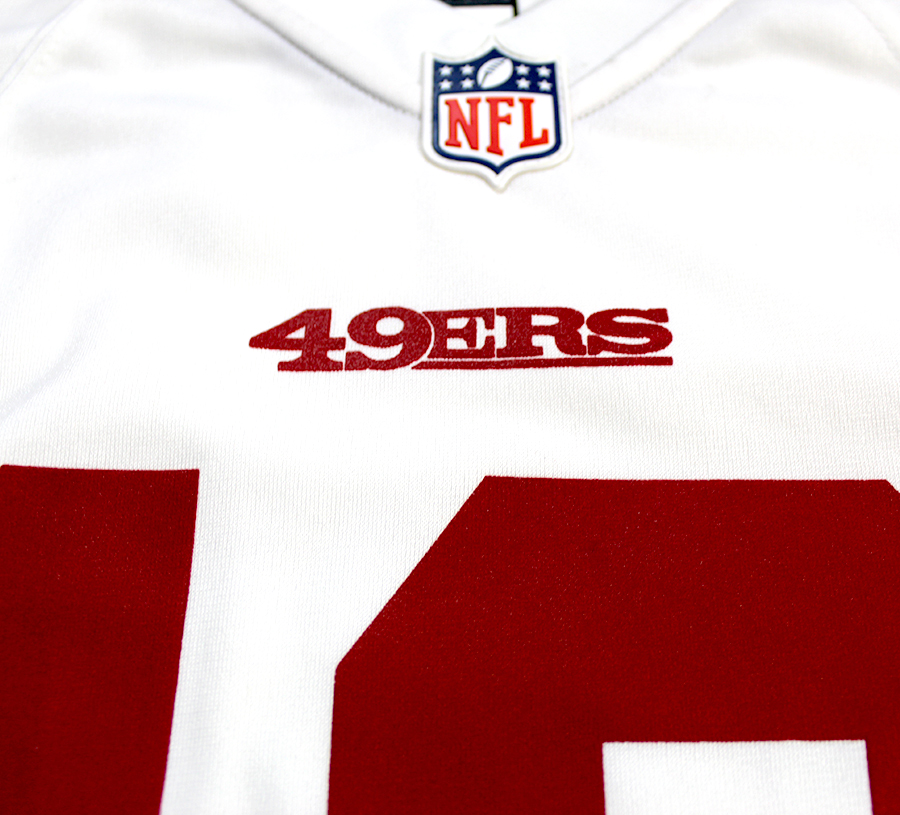 competitive price c6a66 6fb08 Jimmy Garoppolo Autographed San Francisco 49ers Nike 'Game' White Replica  Jersey