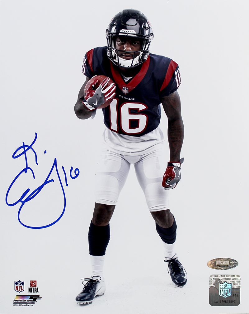 the best attitude 440af afae9 Keke Coutee Autographed Houston Texans 8x10 Photo