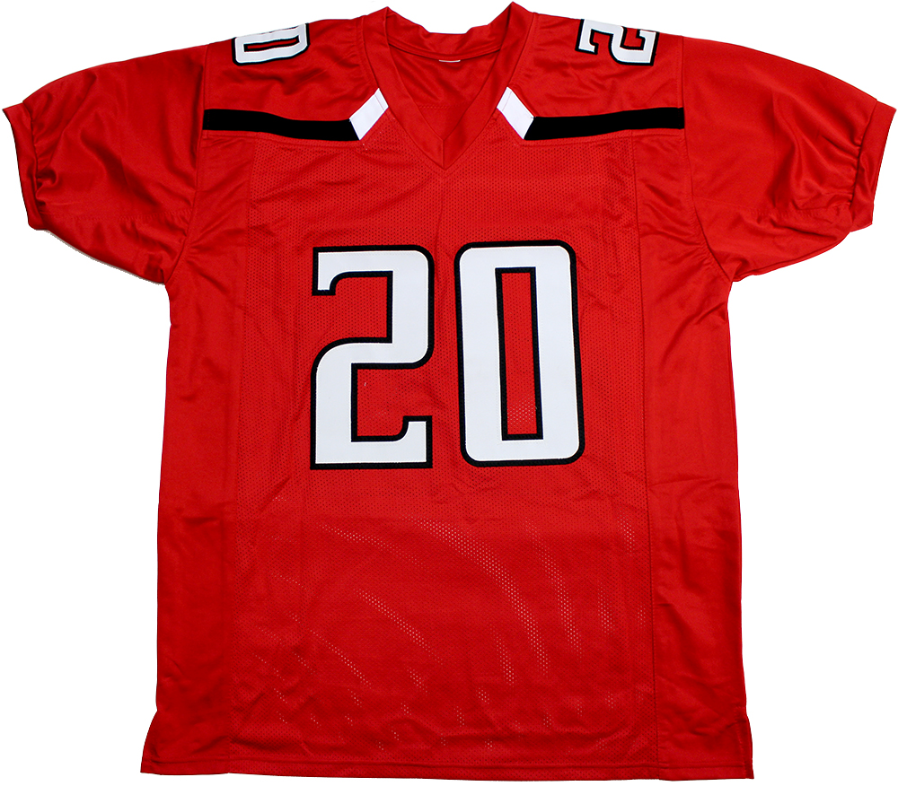 online retailer acad3 cb79e Keke Coutee Autographed Texas Tech Custom Red Jersey
