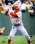 Tommy Helms Autographed Cincinatti Reds 8x10 Photo