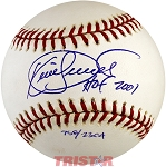 Kirby Puckett Autographed Baseball Inscribed HOF 2001 Limited Edition