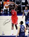 Clint Capela Autographed Houston Rockets 16x20 Photo