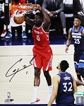 Clint Capela Autographed Houston Rockets 8x10 Photo