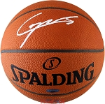 Clint Capela Autographed Spalding Official NBA Game Basketball