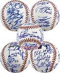 2010 18U National Team Autographed Baseball - Lindor, Almora & 19 More