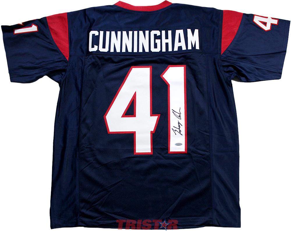 online retailer 617ad cdd6e Zach Cunningham Autographed Houston Texans Custom Jersey