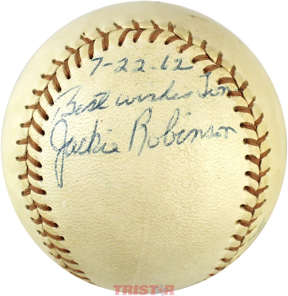 Autographed Baseballs Signed Bob Feller Ball HOF WS Champ