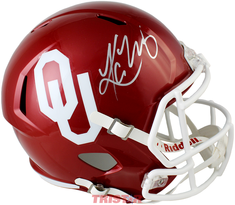 Kyler Murray Autographed Oklahoma Sooners Full-Size Replica Speed Helmet
