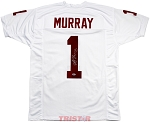 Kyler Murray Autographed Oklahoma Sooners White Custom Jersey