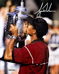 Tiger Woods Autographed 1999 PGA Championship 8x10 Photo - Limited Edition