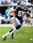 Leighton Vander Esch Autographed Dallas Cowboys 16x20 Photo