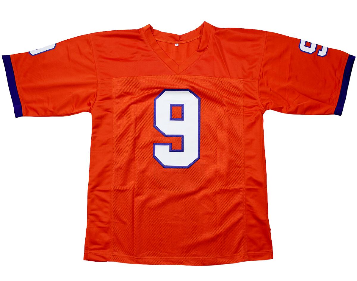 clemson jersey custom