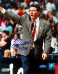 Van Chancellor Autographed Houston Comets 8x10 Photo Inscribed 4-Peat