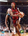 Janeth Arcain Autographed Houston Comets 8x10 Photo
