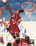 Monica Lamb Autographed Houston Comets 8x10 Photo