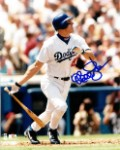 Matt Luke Autographed Los Angeles Dodgers 8x10 Photo