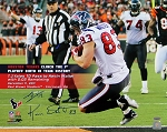 Kevin Walter & T.J. Yates Autographed Houston Texans Touchdown Catch 16x20 Photo