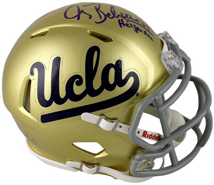 ef9a242a Gary Beban Autographed UCLA Mini Helmet Inscribed Heisman 67
