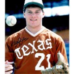 Roger Clemens Autographed University of Texas Longhorns 16x20 Photo