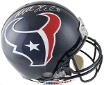 Matt Schaub Autographed Houston Texans Authentic Full Size Helmet