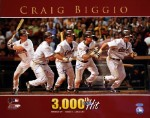 Craig Biggio Autographed Houston Astros 3000 Hit 16x20 Photo