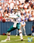 Damon Huard Autographed Miami Dolphins 8x10 Photo