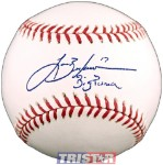 Lance Berkman Autographed Official ML Baseball Inscribed Big Puma