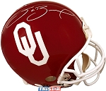 Sam Bradford Autographed OU Sooners Full Size Authentic Helmet