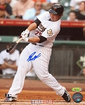 Brett Wallace Autographed Houston Astros 8x10 Photo