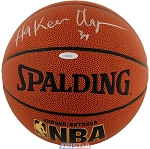Hakeem Olajuwon Autographed Indoor/Outdoor NBA Basketball