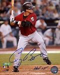 Craig Biggio Autographed Houston Astros 8x10 Photo Inscribed HOF 15