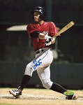 George Springer Autographed Astros 8x10 Photo