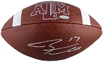 Ryan Tannehill Autographed Texas A&M Aggies Football