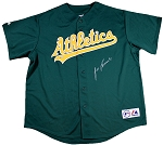 Jose Canseco Autographed Oakland A's Green Replica Jersey