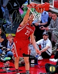 Chandler Parsons Autographed Houston Rockets 8x10 Photo