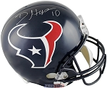 DeAndre Hopkins Autographed Houston Texans Authentic Full Size Helmet