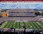 Texas A&M Aggies Autographed Commemorative Limited Edition 16x20 Photo - 11 Signatures