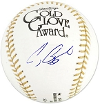 Craig Biggio Autographed Official Gold Glove Award Baseball