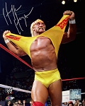 Hulk Hogan Autographed Wrestling 16x20 Photo