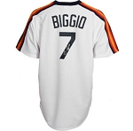 Craig Biggio Autographed Houston Astros Throwback Jersey