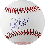 Jake Marisnick Autographed Official ML Baseball